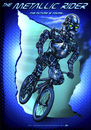Cartoon: the metallic rider part two (small) by elle62 tagged metal bmx android
