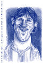 Cartoon: Leo Messi (small) by hakanarslan tagged mesii barcelona caricature hakanarslan argentina soccer football