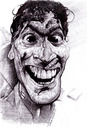 Cartoon: Bruce Campbell (small) by salnavarro tagged caricature,pen