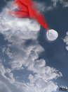 Cartoon: cloud face 29 (small) by besscartoon tagged wolken,himmel,cloud,gesicht,face,weihnachten,frohes,fest,bess,besscartoon