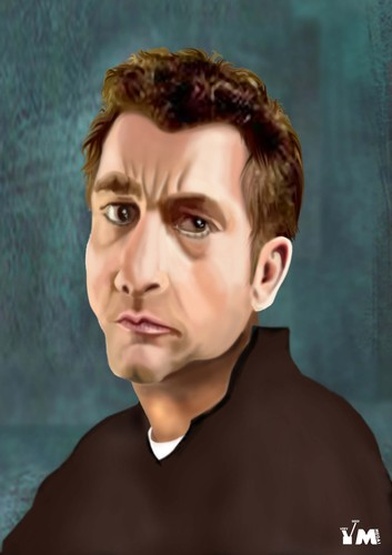 Cartoon: Clive Owen (medium) by Vlado Mach tagged movie,actor,clive,owen
