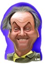 Cartoon: Jack Nicholson (small) by Vlado Mach tagged actor movie jack nicholson