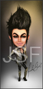 Cartoon: Adam Lambert Caricature (small) by Jonsanfig tagged adam,lambert