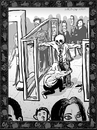 Cartoon: Dance of Death 7 (small) by Dunlap-Shohl tagged dance death tsa airport security