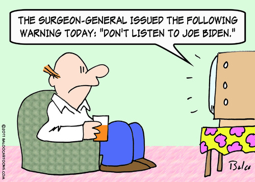 Cartoon: biden warning from surgeon gener (medium) by rmay tagged biden,warning,from,surgeon,gener