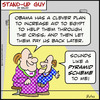 Cartoon: 1aa102SUGpyramid scheme obama eg (small) by rmay tagged 1aa102sugpyramid,scheme,obama,eg