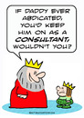 Cartoon: abdicate consultant king prince (small) by rmay tagged abdicate,consultant,king,prince