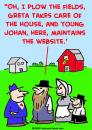 Cartoon: amish website (small) by rmay tagged amish,website