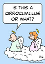 Cartoon: angels cloud cirrocumulus (small) by rmay tagged angels,cloud,cirrocumulus