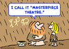 Cartoon: caveman masterpiece theatre (small) by rmay tagged caveman,masterpiece,theatre