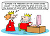 Cartoon: computer king queen computer dia (small) by rmay tagged computer,king,queen,dial,up,phone,line