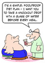 Cartoon: diet knockout drop doctor fat (small) by rmay tagged diet,knockout,drop,doctor,fat