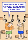 Cartoon: dungeon plea-bargained prisoners (small) by rmay tagged dungeon,plea,bargained,prisoners