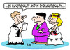 Cartoon: dysfunctionality wedding marriag (small) by rmay tagged dysfunctionality wedding marriage