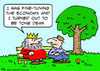 Cartoon: economy fine tune tone deaf king (small) by rmay tagged economy,fine,tune,tone,deaf,king