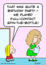 Cartoon: full contact spin the bottle (small) by rmay tagged full,contact,spin,the,bottle