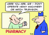 Cartoon: heavy machinery pharmacy (small) by rmay tagged heavy,machinery,pharmacy
