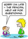 Cartoon: held questioning principal schoo (small) by rmay tagged held,questioning,principal,school