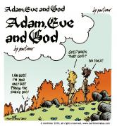 adam eve and god
